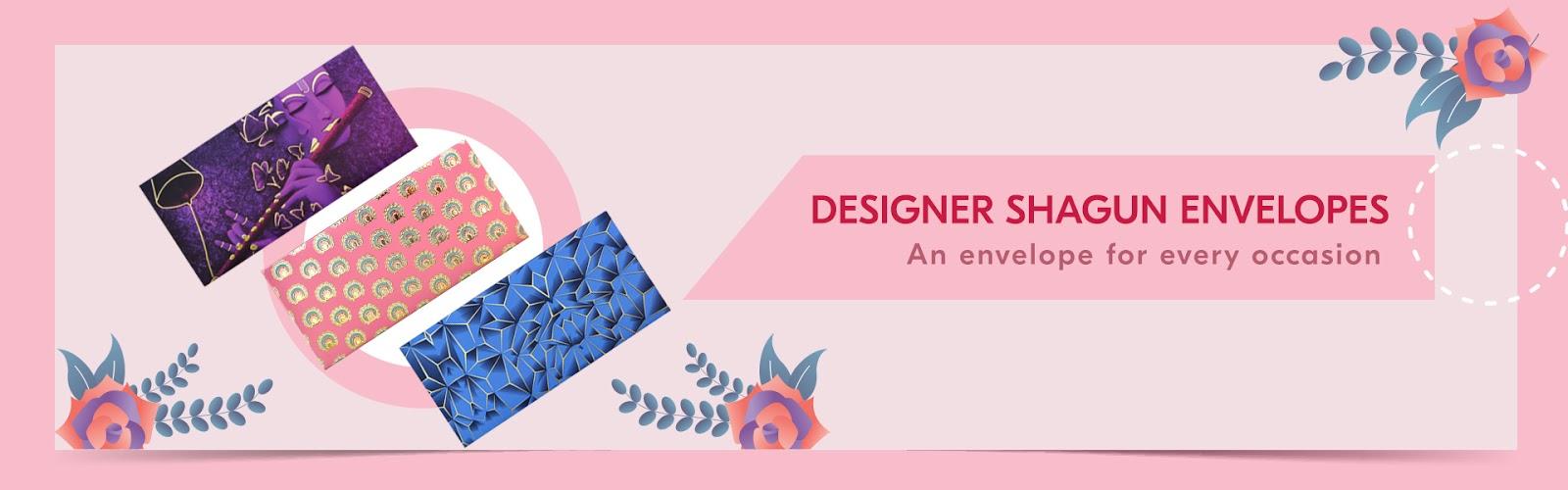Designer Shagun Envelopes