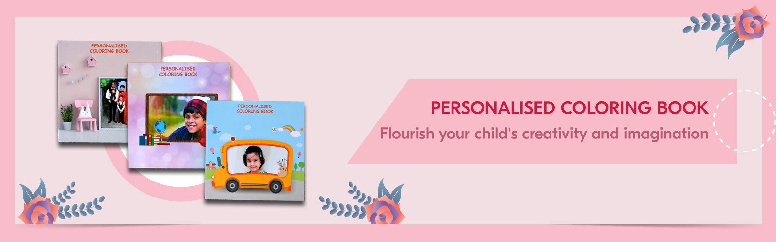 Personalised Coloring Books