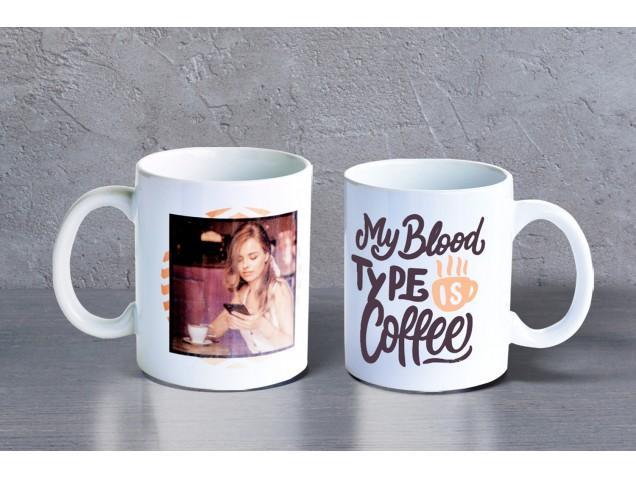 Love for Coffee Personalised Mug