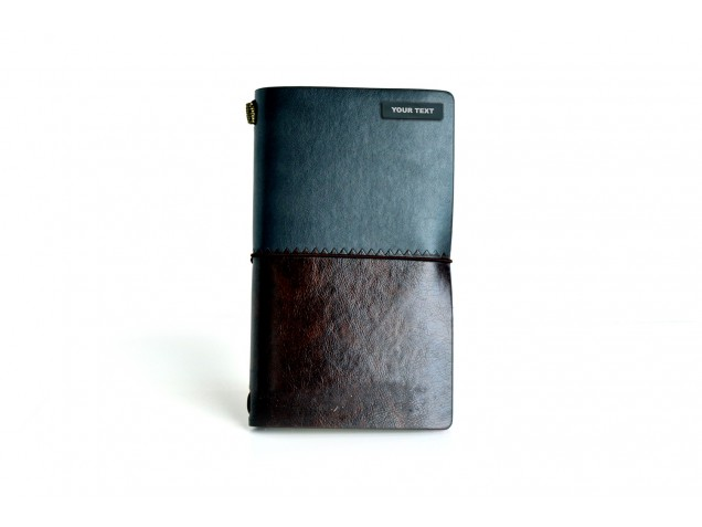 Two Tone Thermo PU personalised Travel Planner