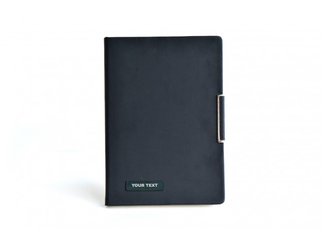 Thermo PU Black Matte Personalised Business Dairy