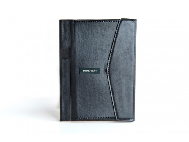 2 Tone Black Shinning Personalised Diary