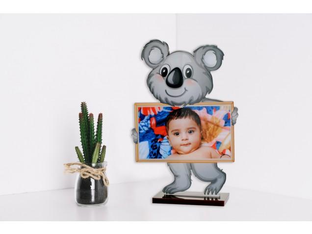 Baby Bear Acrylic Cartoon Photo Stand