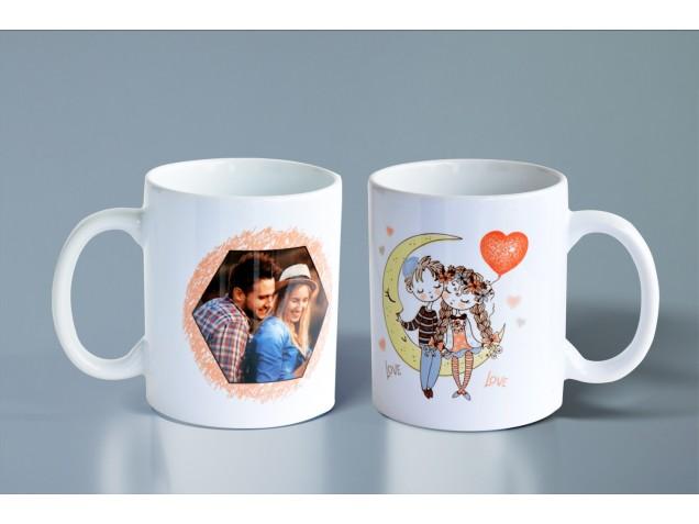 Turtledoves Personalised Mug