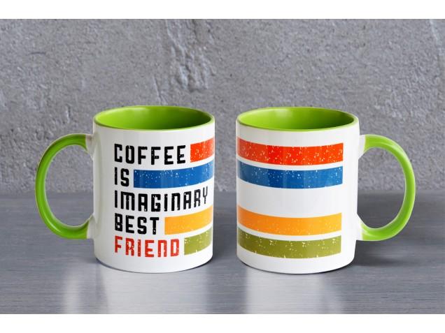 Coffee is best Friend Mug