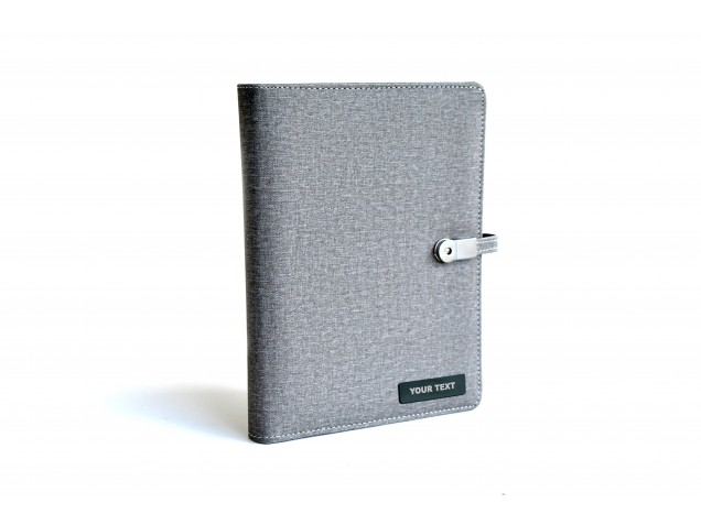 Personalised Planner with 10000 MAH Power Bank