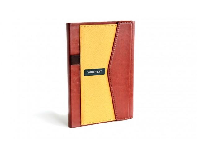 2 Tone Tan Personalised Diary