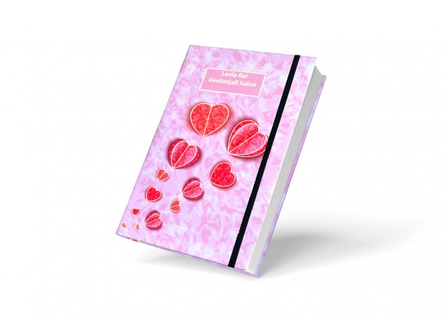 Heart to Heart Personalised Notebook
