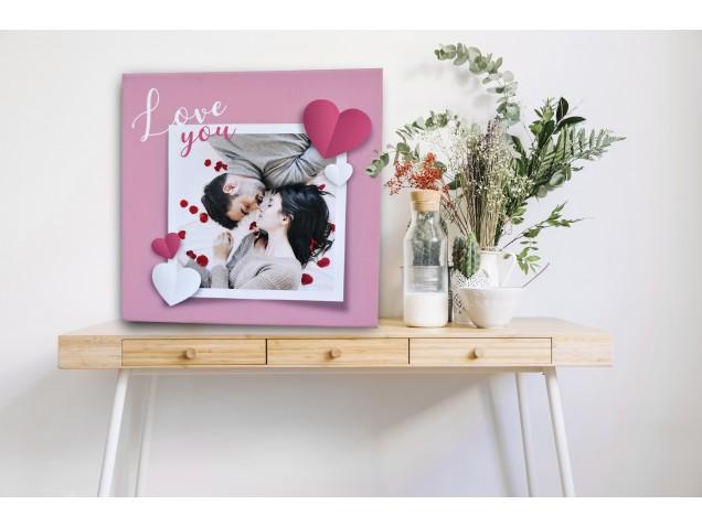 True Love canvas