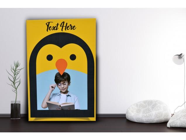 Penguin Style canvas
