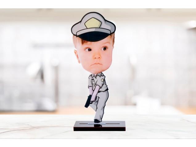 Inspector of Police Caricature