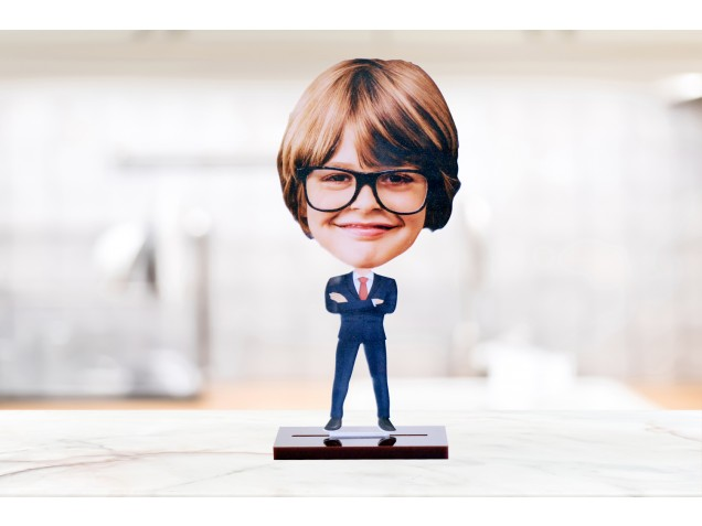 I am the Boss Caricature