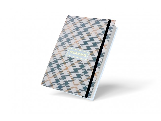 Grey Executive Personalised Notebook