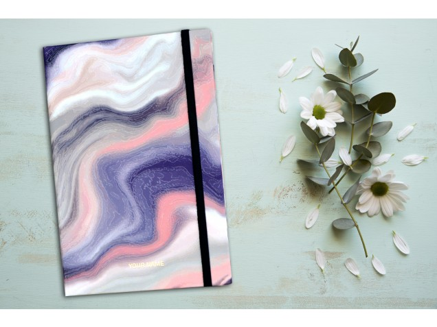 Water Color Personalised Notebook