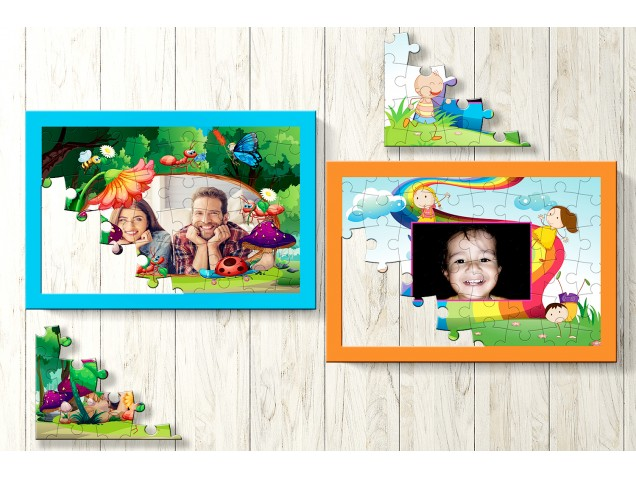 Bliss Personalised Puzzle-Set of Two