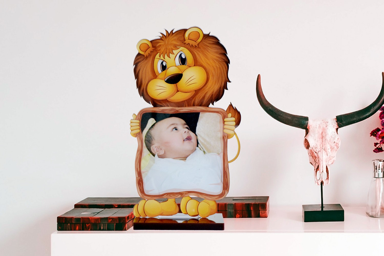 Lion King Acrylic Cartoon Photo Stand