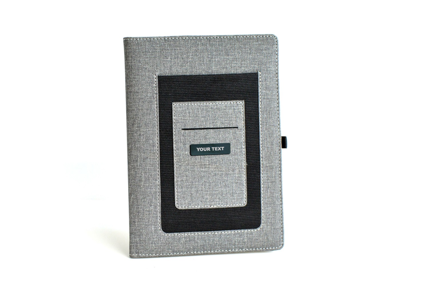 Grey Personalised Business Diary