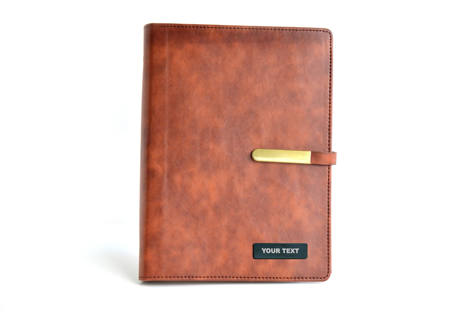 Tan Thermo PU Tan Personalised Business Planner