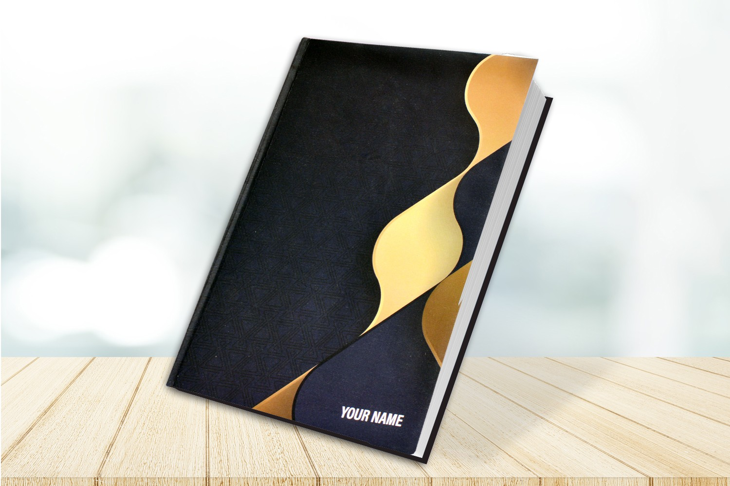 Gold & Black Executive Notebook