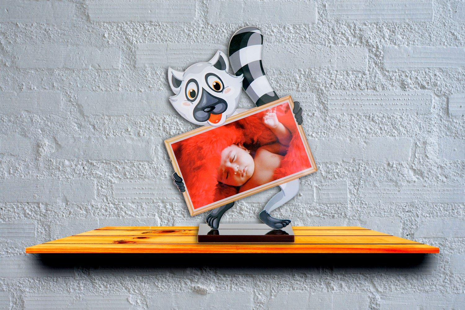 Kitten & Me Acrylic Cartoon Photo Stand