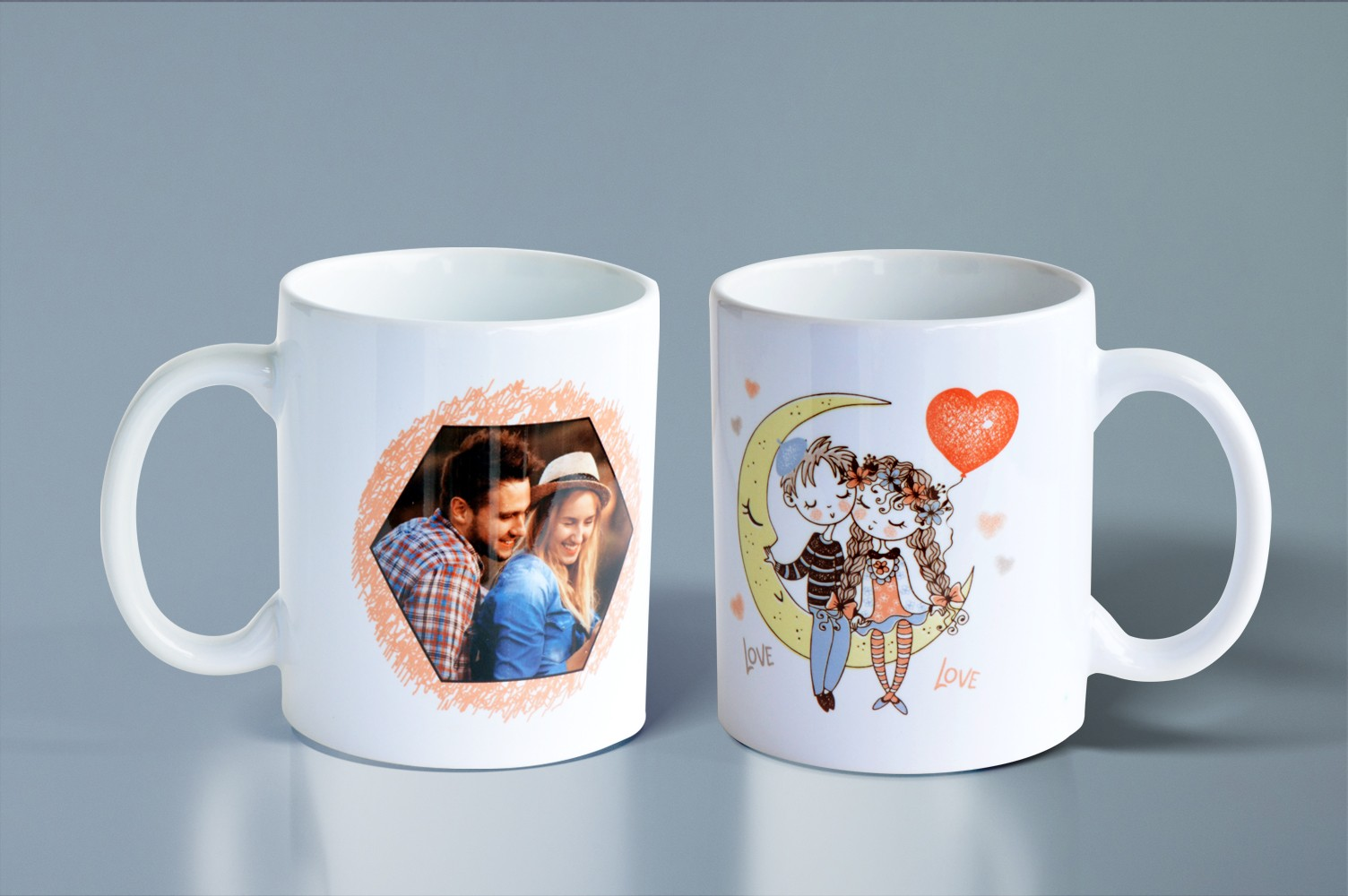 Turtledoves Personalised Mug
