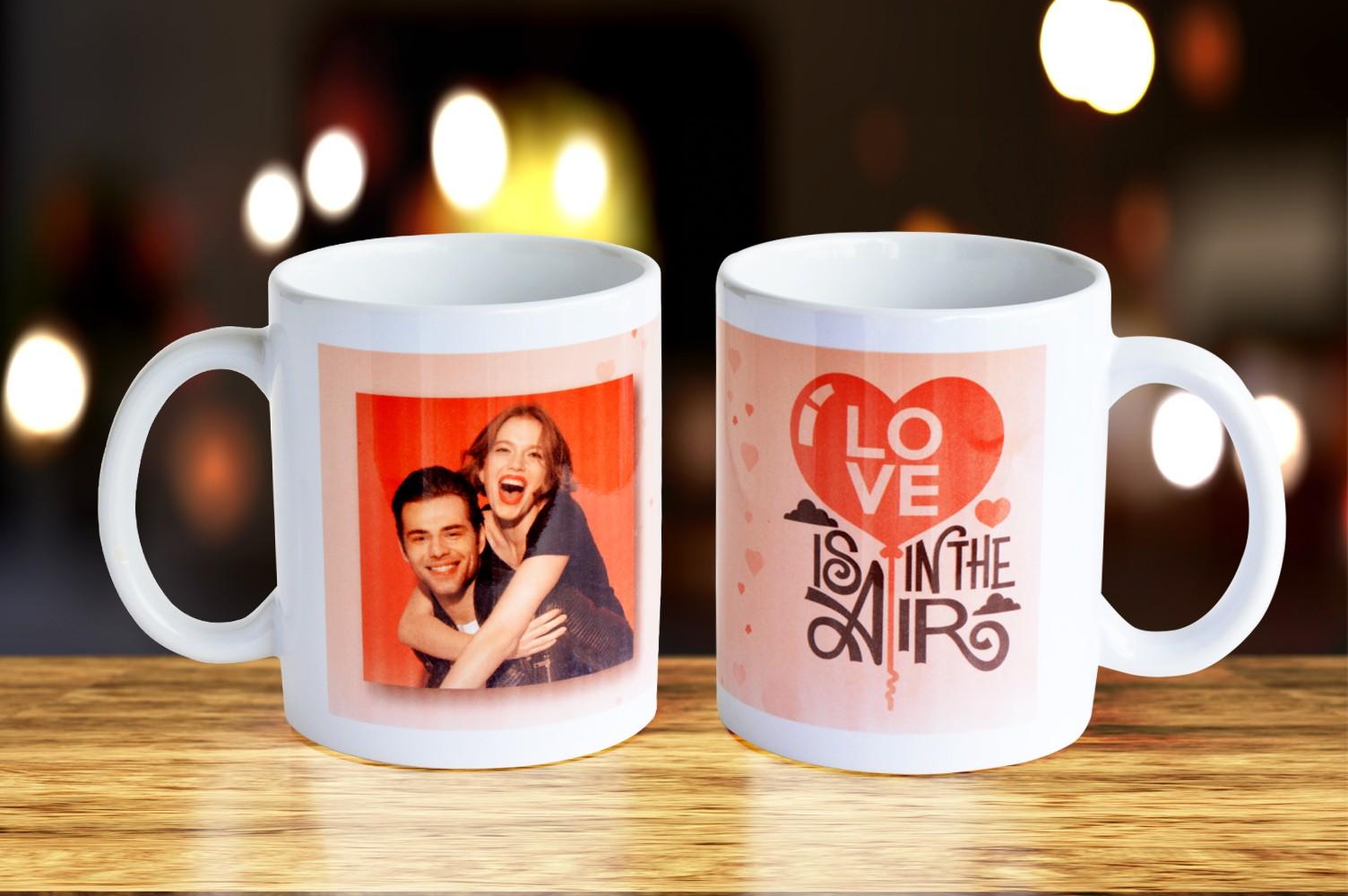 Personalised Love You Mug