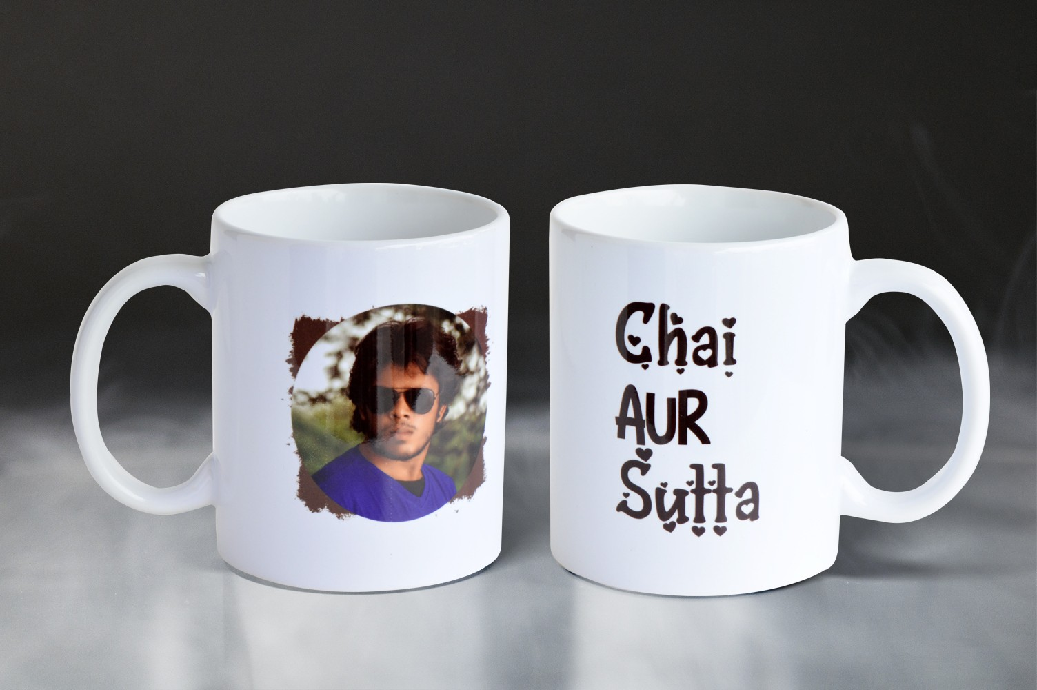 Chai Aur Sutta Personalised Mug