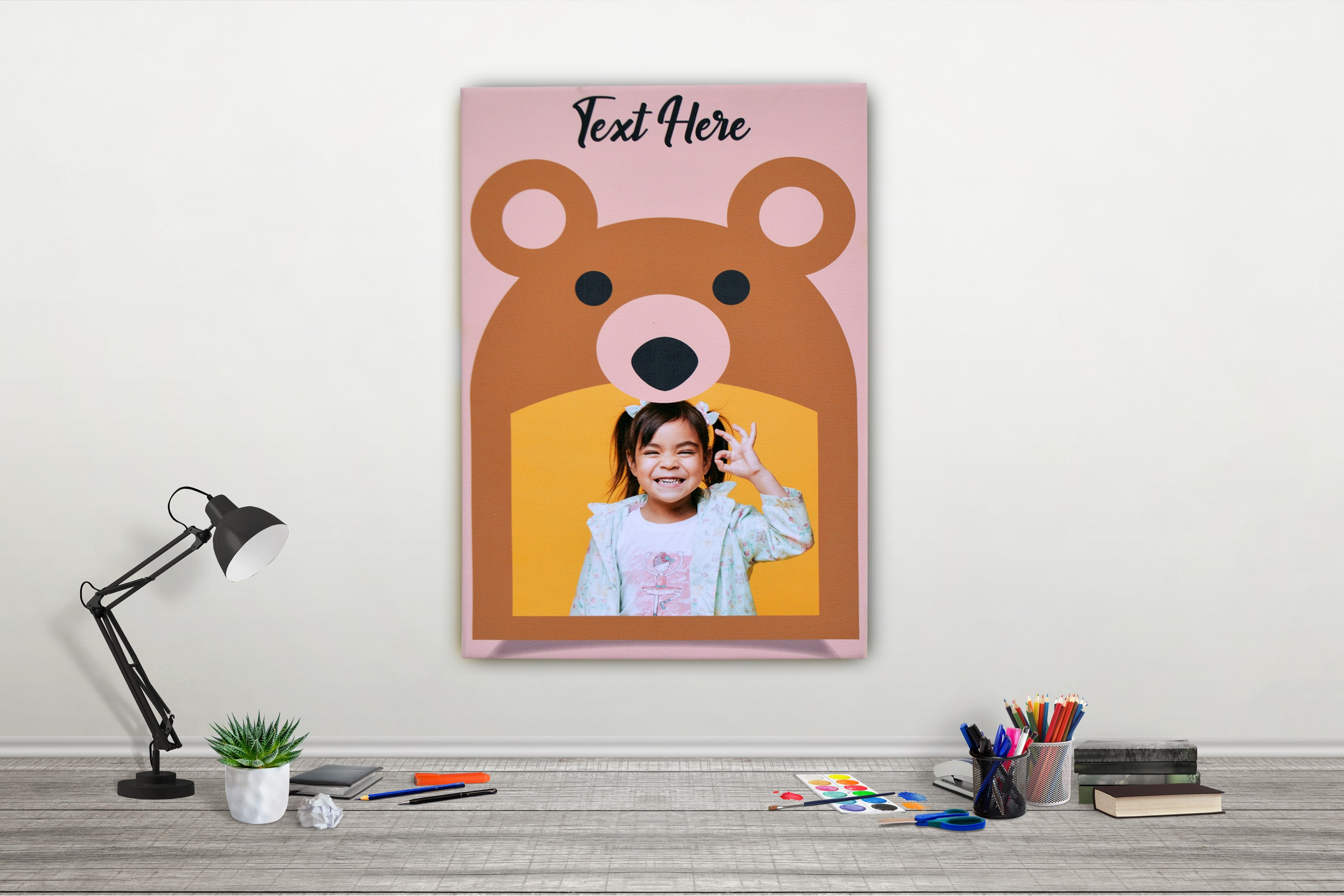 Teddy Bear canvas
