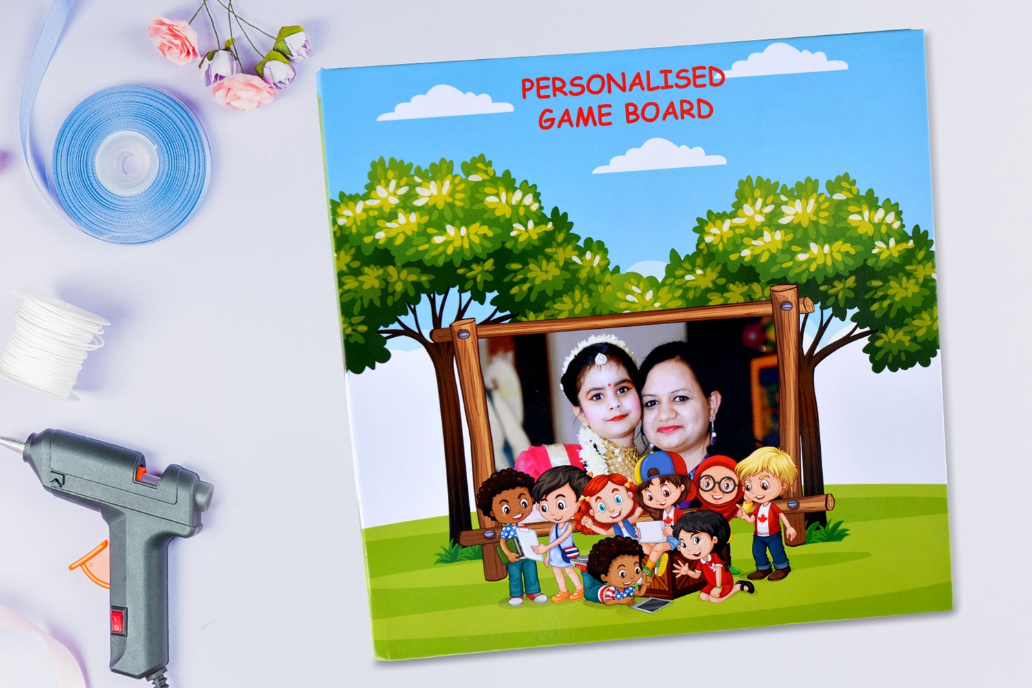 Play, Learn and Grow Game Board