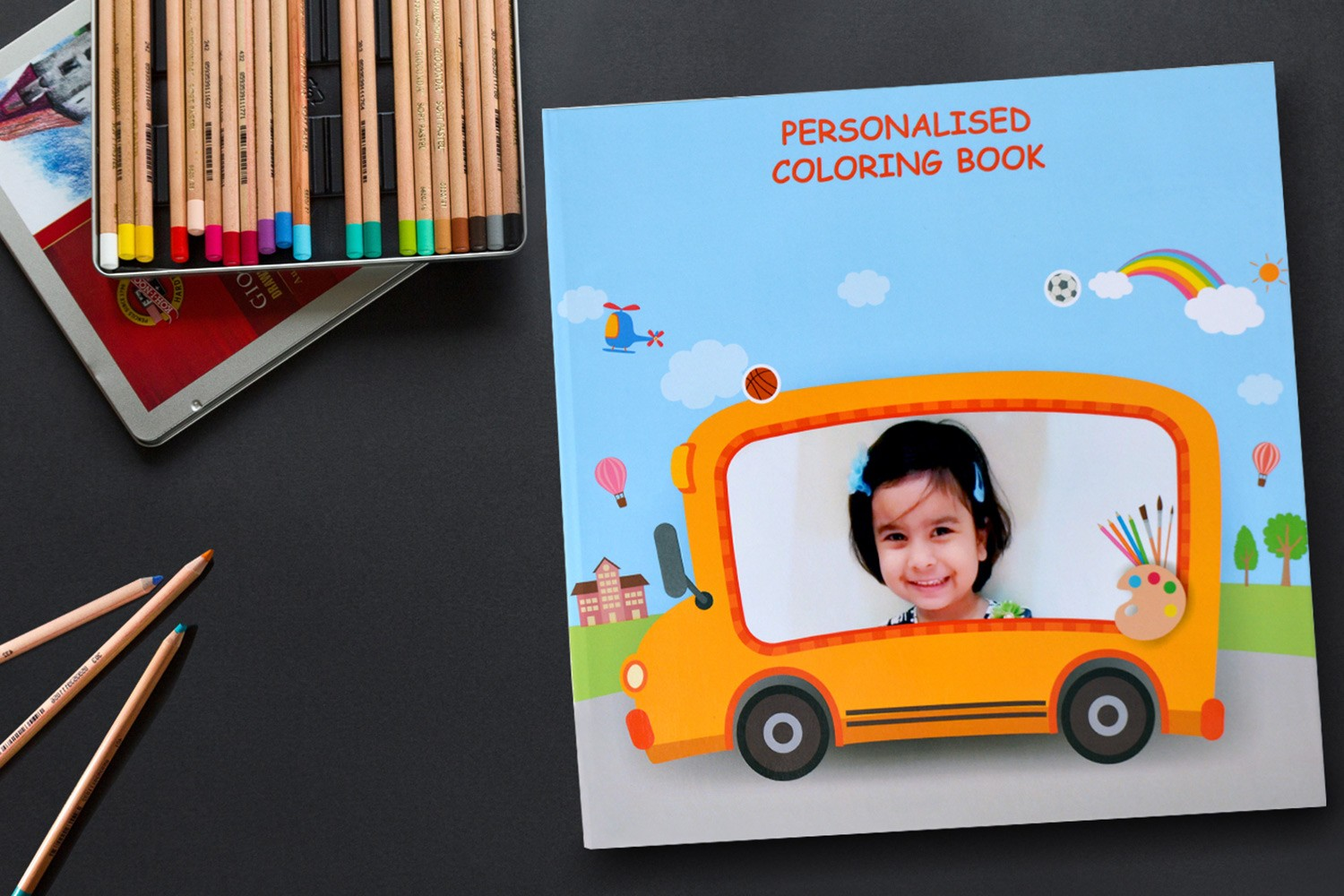 Bright Baby Colors Drawing Book(For kids 3-7 years)