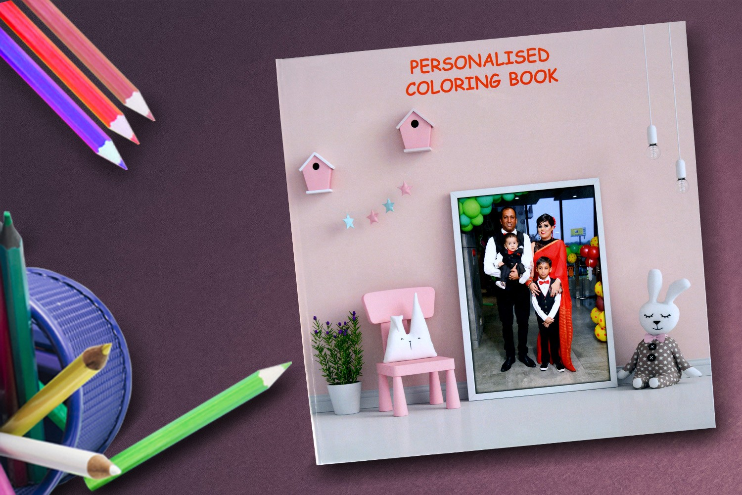 Coloring Fun Drawing Book (For kids 3-7 years)