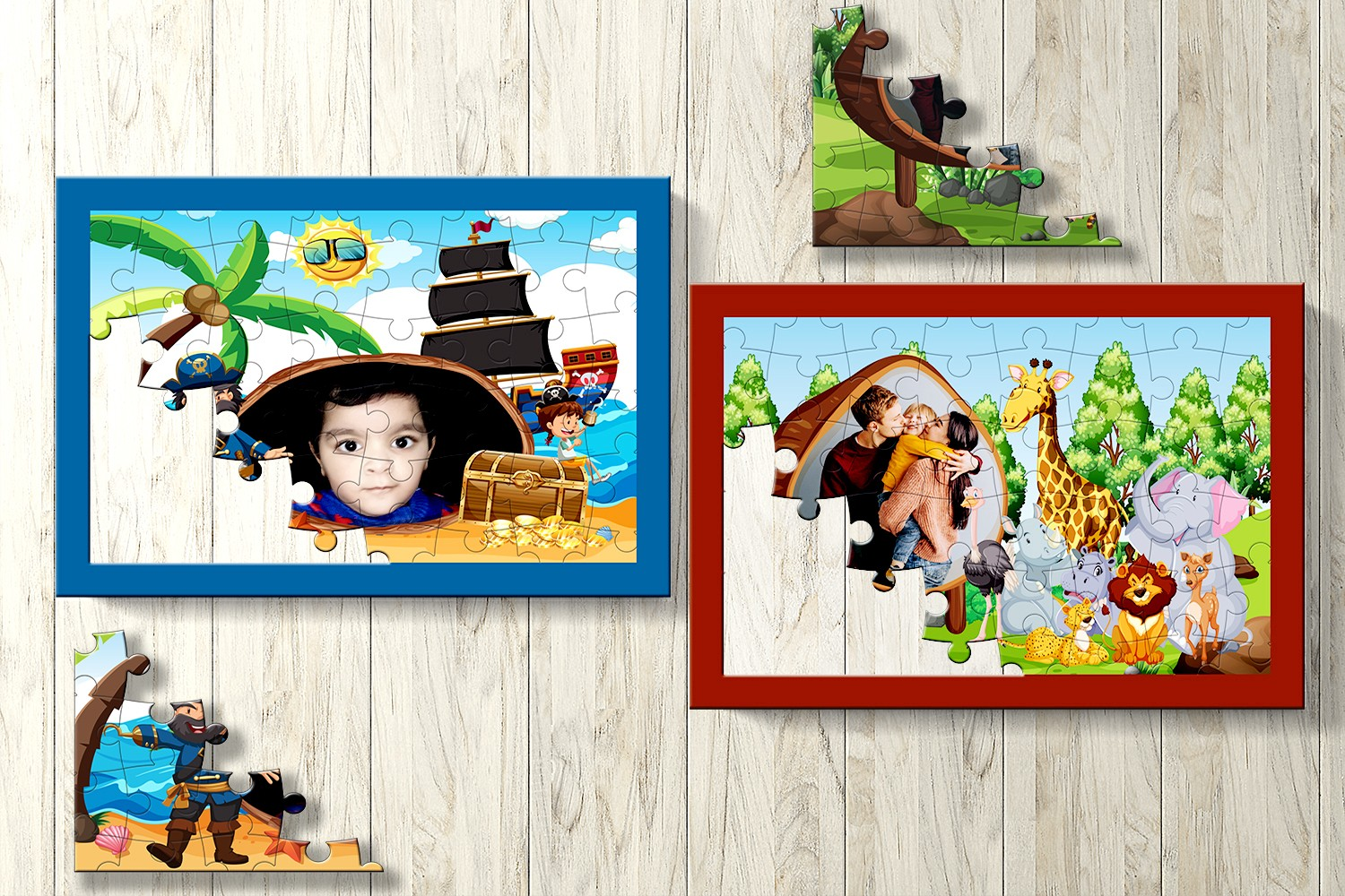 Tiny Tot Personalised Puzzle-Set of Two