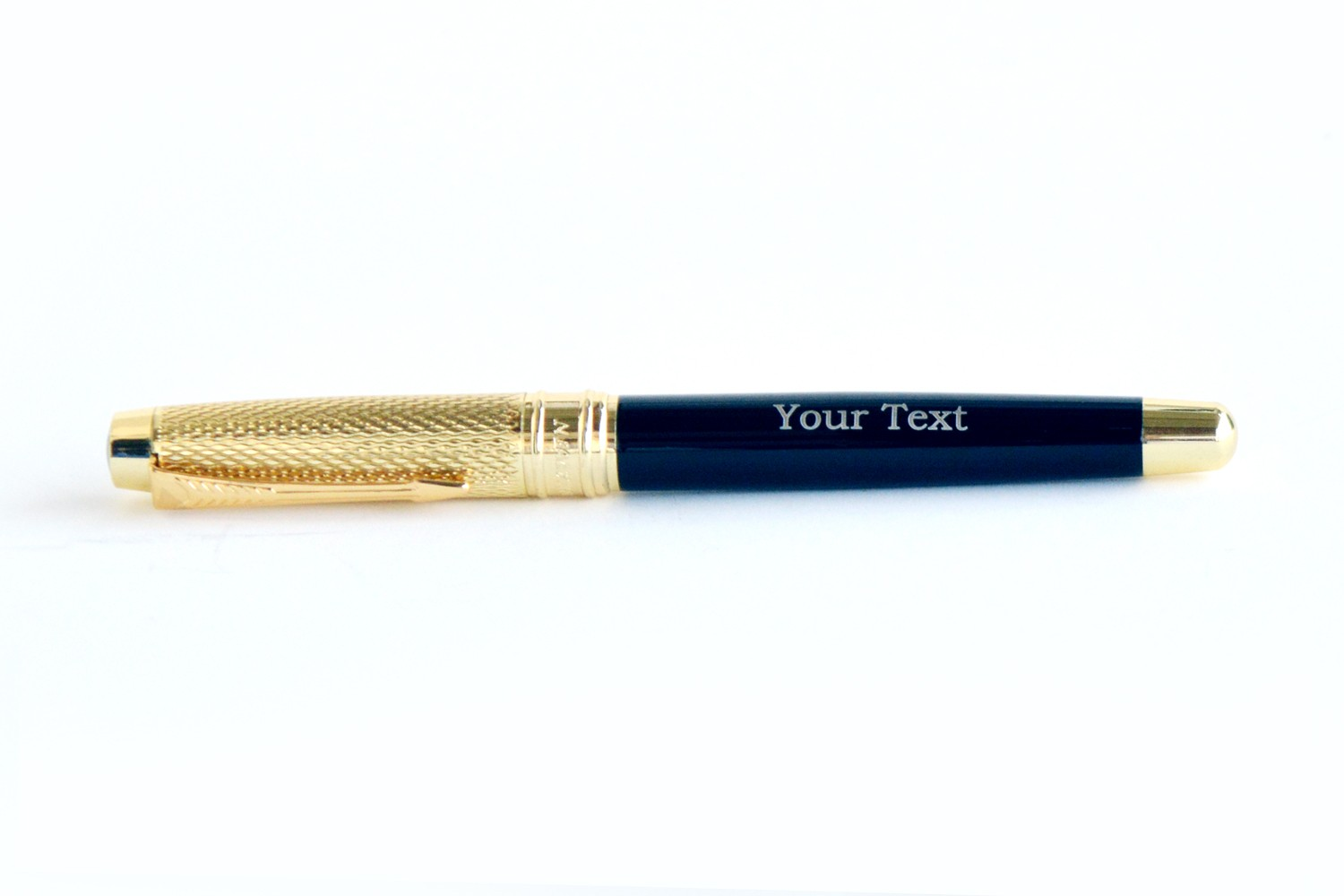 Scabrid Gold Raven Personalised Pen