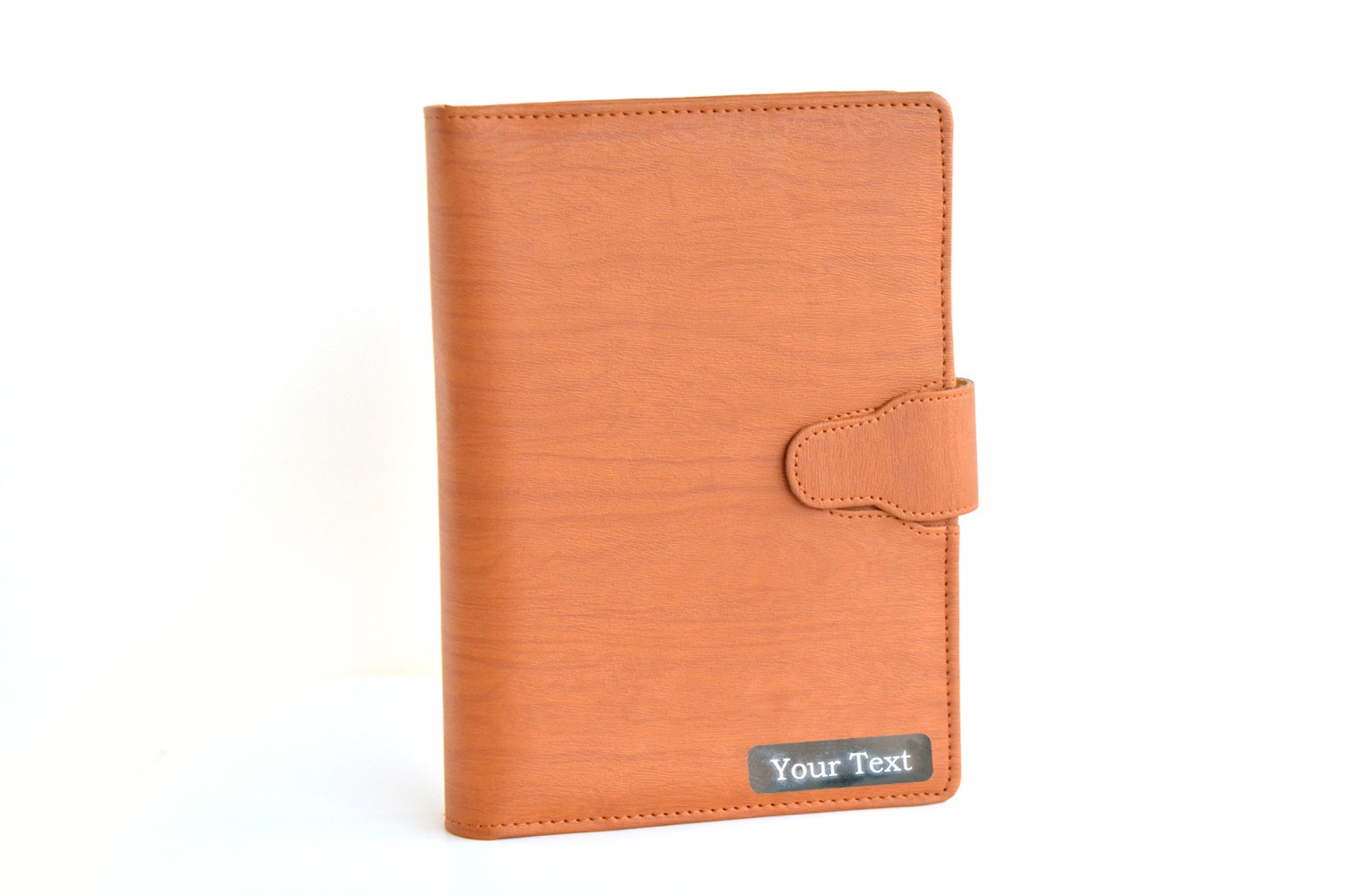 Personalised Leather Business Planner/Organiser - Tan