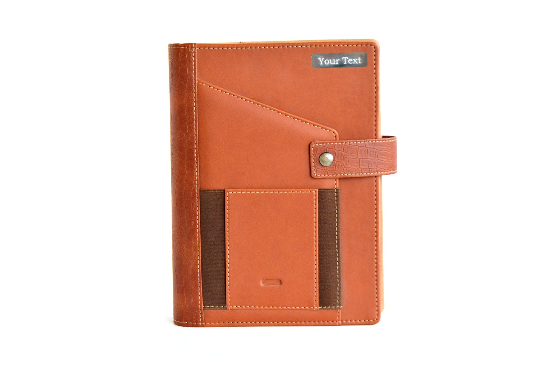 Leather Seinna Personalised Business Organiser
