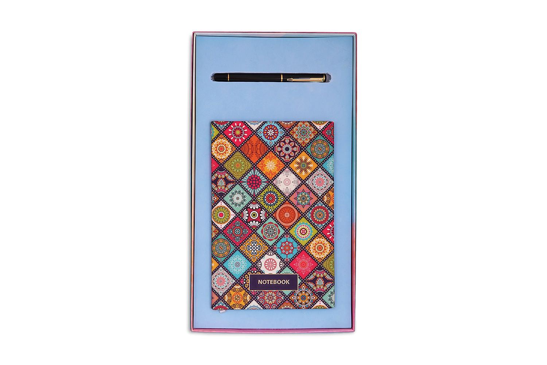 Madhubani Notebook & Pen Combo