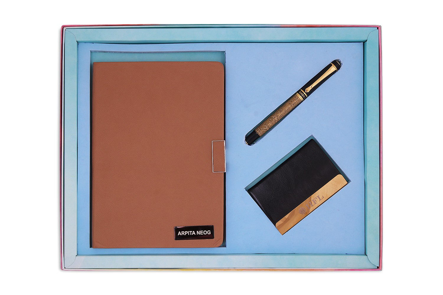 Executive Planner, Card Holder & Pen Combo 2