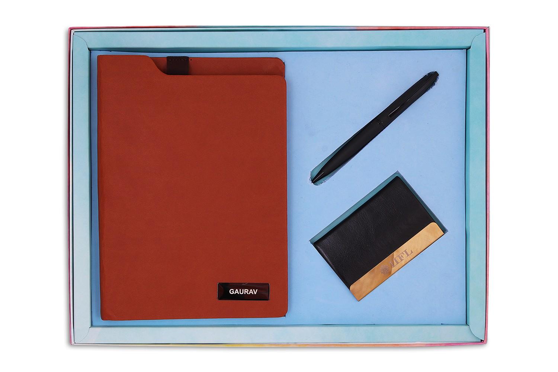 Executive Planner, Card Holder & Pen Combo