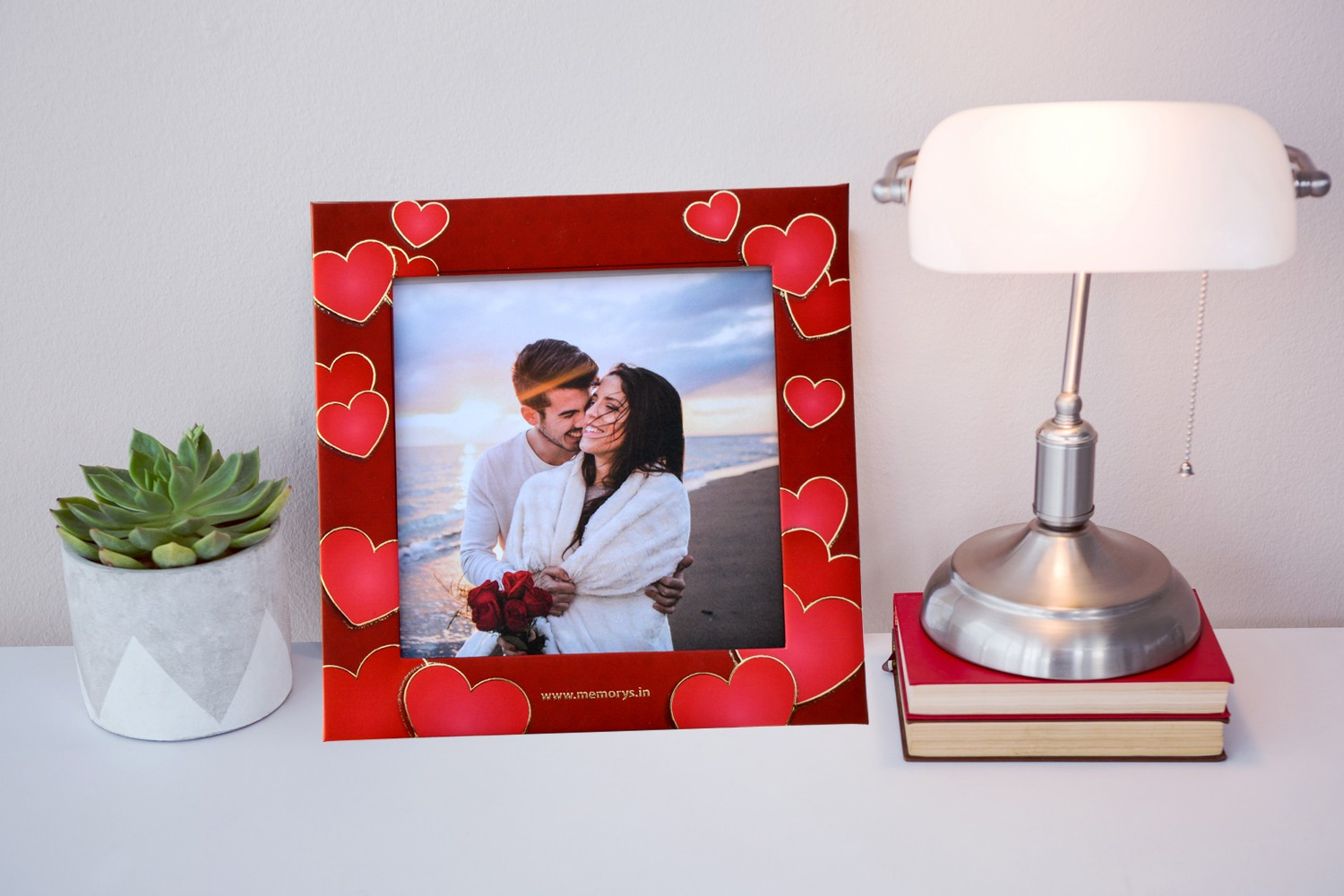 Hearts in Hearts Photo Frame