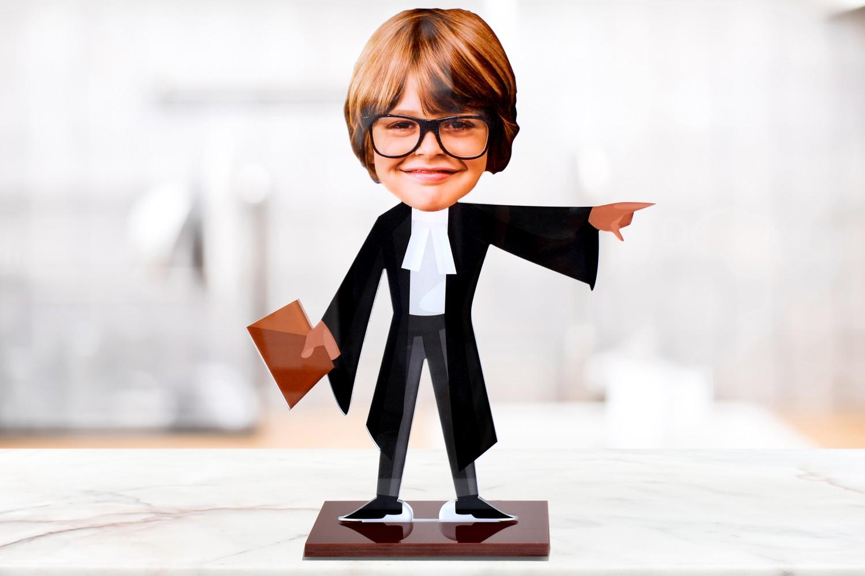 Advocate Caricature