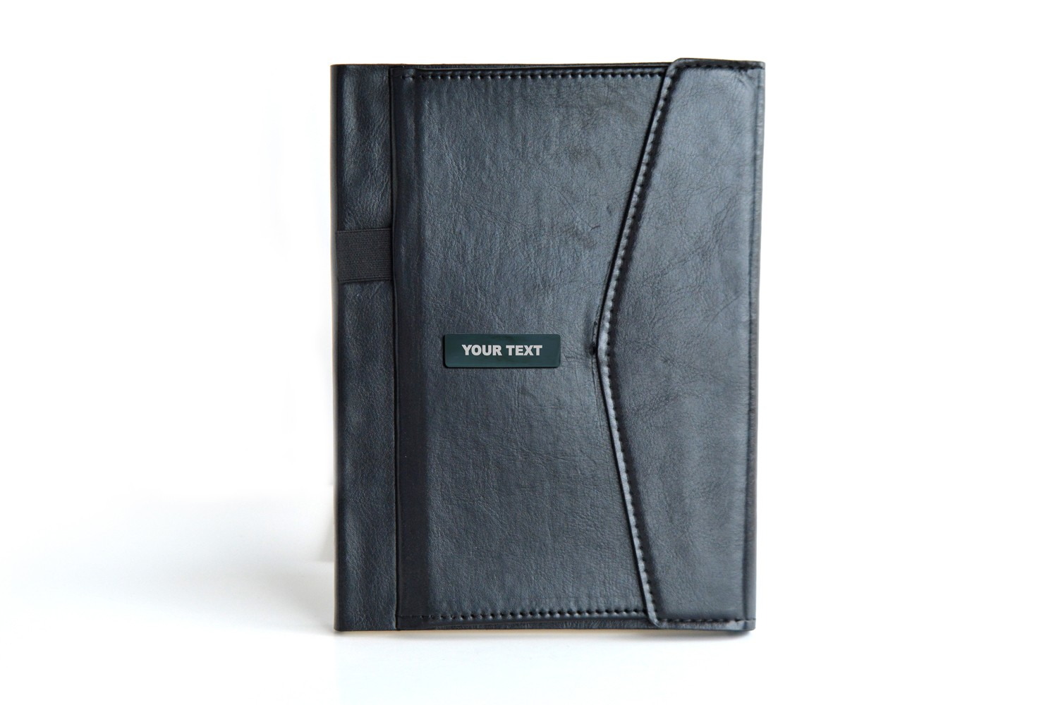 2 Tone Black Shinning Personalised Diary