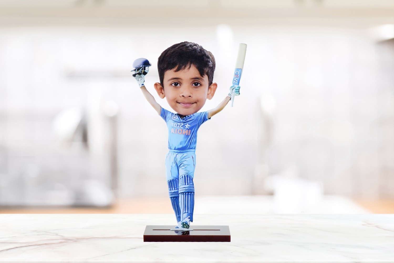 I am a batsman personalised Caricature