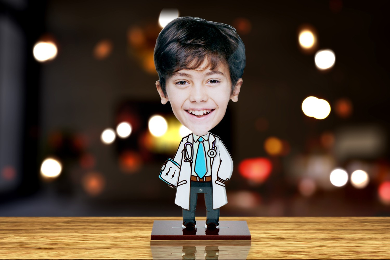 I am a Doctor Caricature