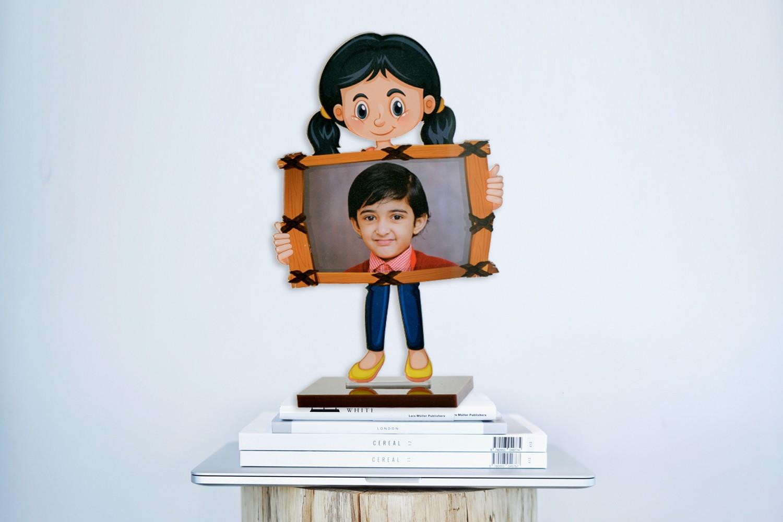 My Cute Angel Acrylic Cartoon Photo Stand