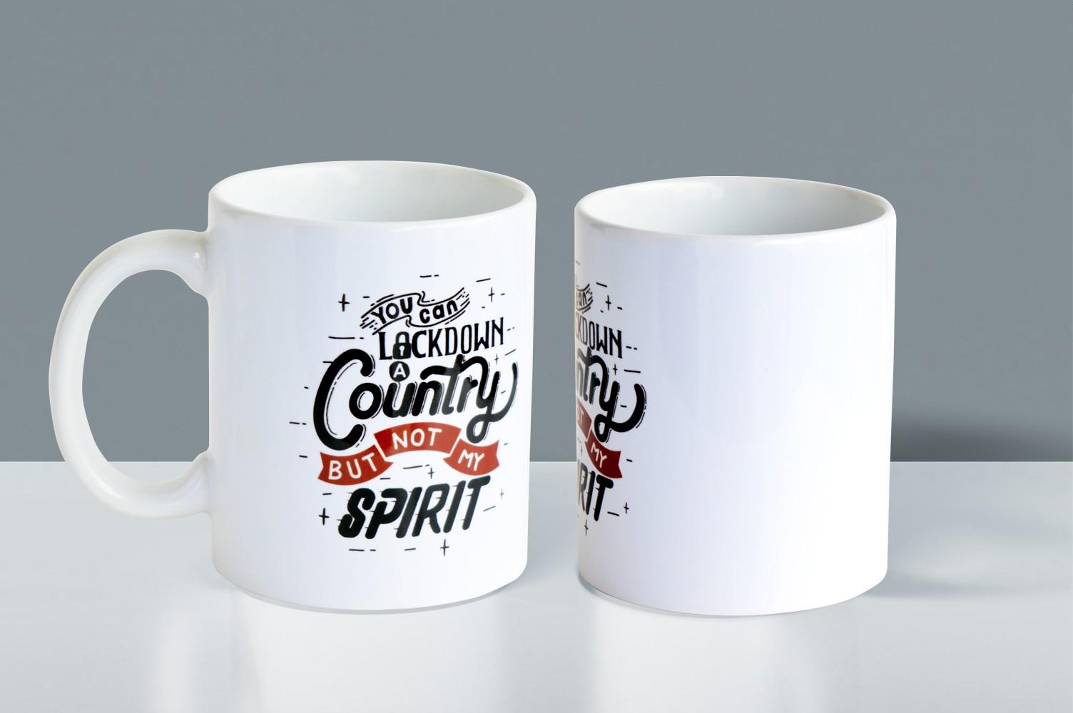 Motivational Spirit Quote Mug