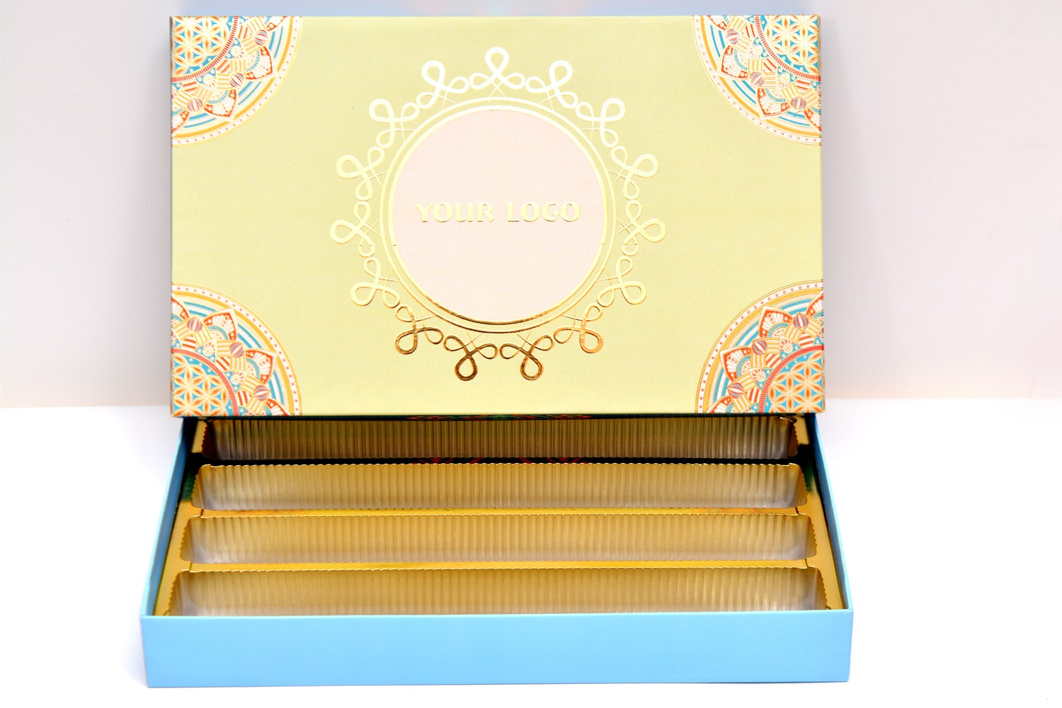 Lemon Blue Sweet Box (1Kg)