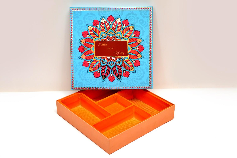 Indian Floral Bhaji Box