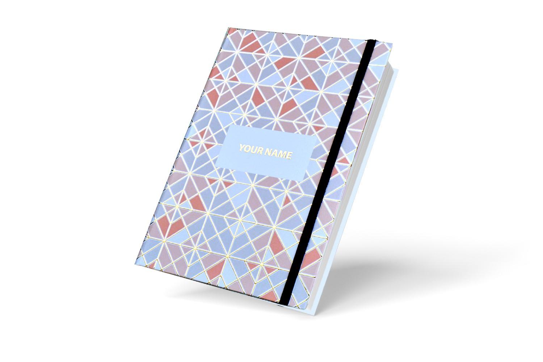 Checks in Checks  Personalised Notebook