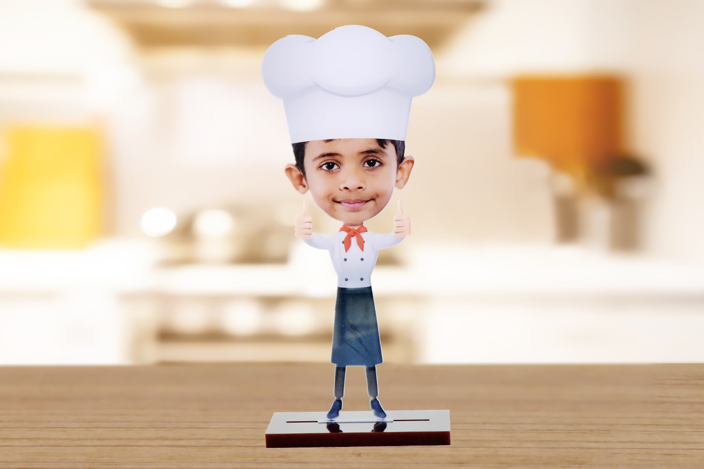 Head Chef Caricature