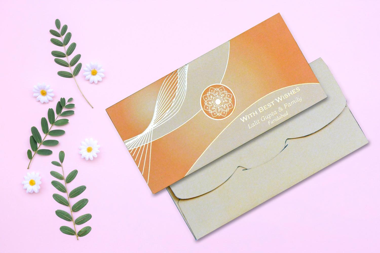 Sun Light Personalised Shagun Envelope Premium - Pack of 20